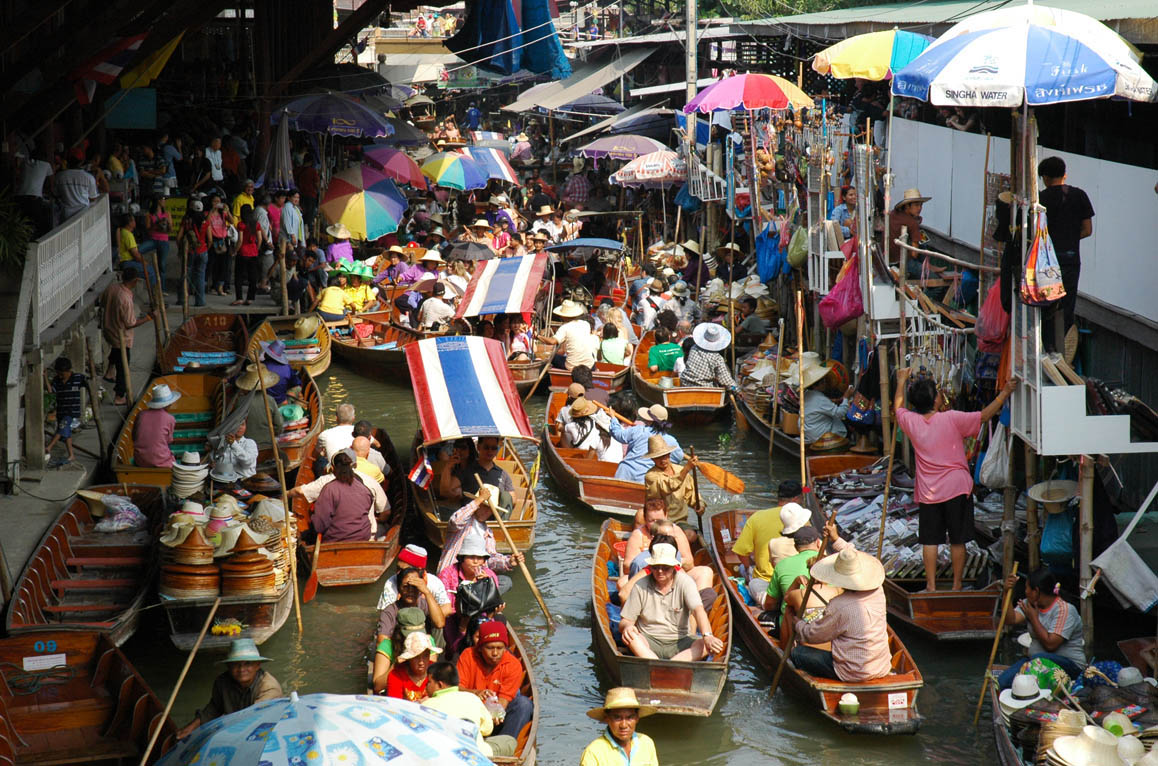 The Damnoen Saduak Floating Market  Places Ive been ...